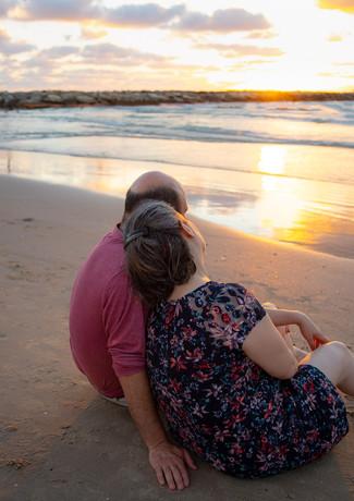 צילומי זוגיות בים