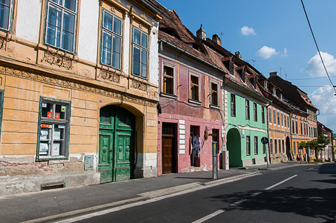 רחוב צבעוני