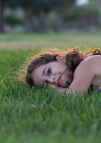 על הדשא בקיץ