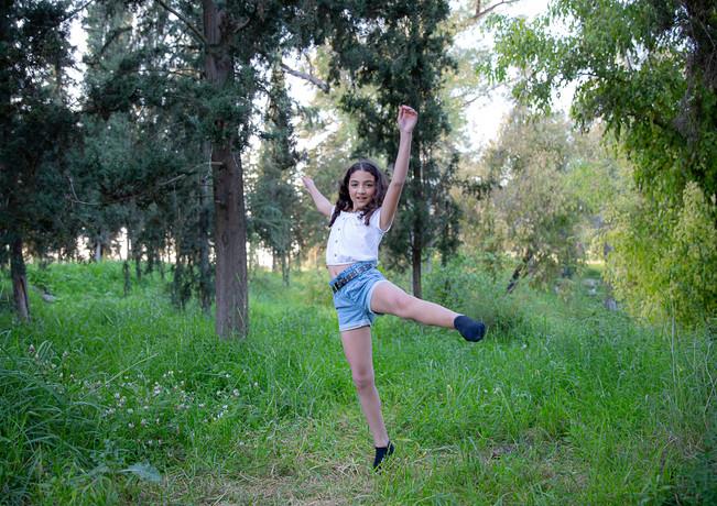 שירה רוקדת ביער