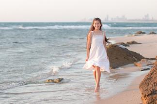 צילומי בת מצווה בים