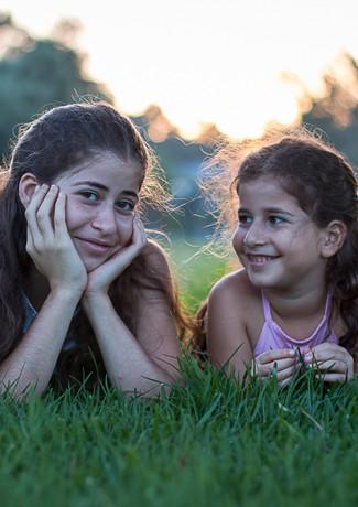 אחיות בפארק