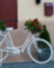 אופניים לבנות מעוצבים בעיר