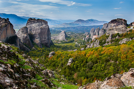 נוף מטאורה - יוון