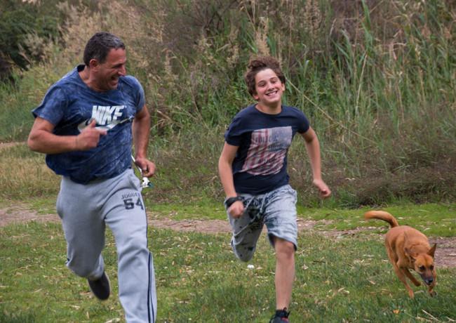 ריצה משפחתית