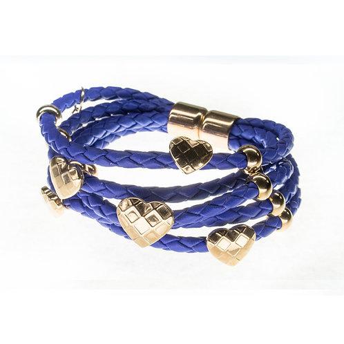 Rubberchic Trendy Blue & Gold