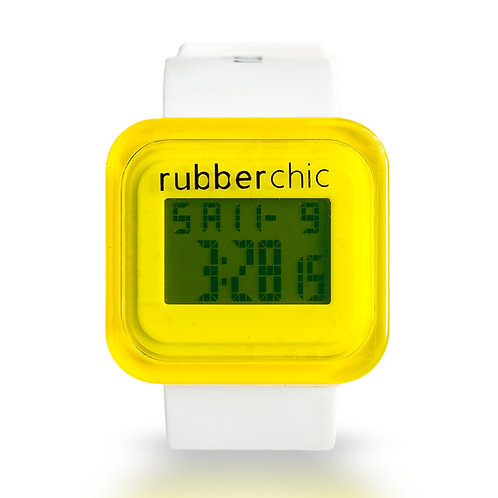 Rubberchic Box White and Yellow