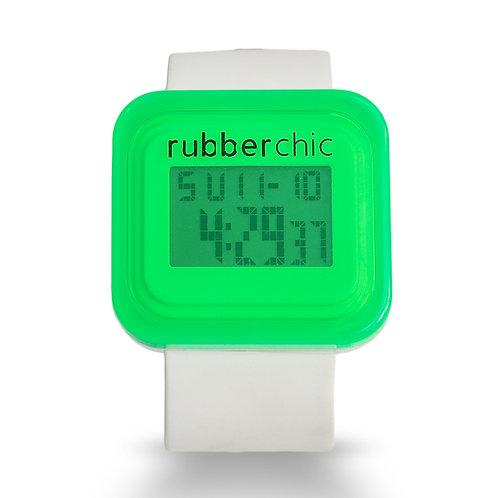 Rubberchic Box White and Green
