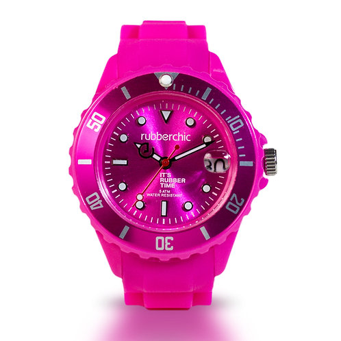 Rubberchic Basic Fucsia