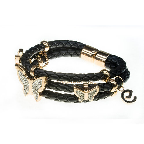 Rubberchic Trendy Black & Gold