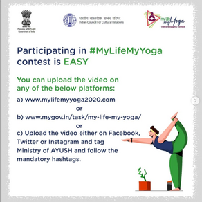 My Life My Yoga - Initiative of Ministry of Ayush