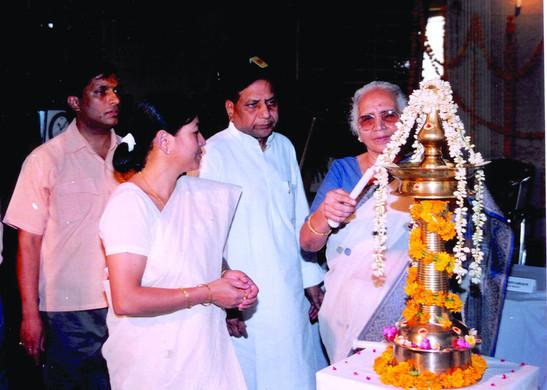22. MS  krishnakanth wf of former vice p