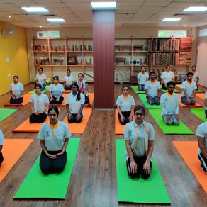 Graduation Ceremony of Yoga Instructor Batch - III