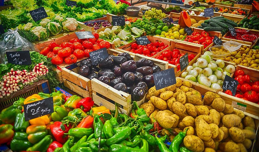 Market fresh food