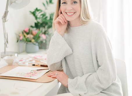 Women of The Wedding Industry Wednesday with Kristin Hussey of Sable & Gray Paper Co.