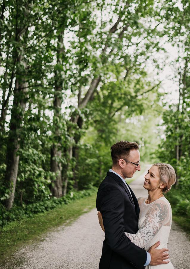 Katie and Mark Cherry Basket Farm Weddin