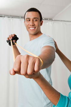 Theraband Shoulder Physical Therapy