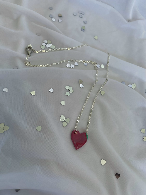 Heart Necklace Sample