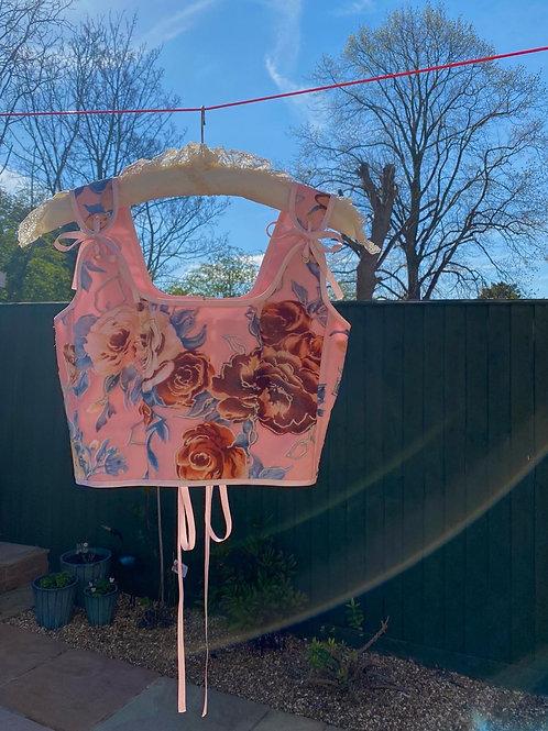 Flo's custom corset
