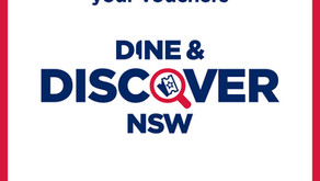 Apply for Dine & Discover NSW Vouchers
