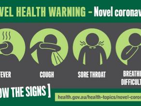 Urgent Announcement                          Novel Coronavirus information,