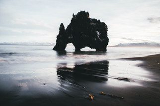 Hviterskur Rock, Iceland