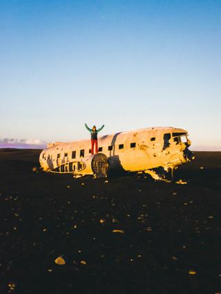 DC3 Plane Wreck, Iceland