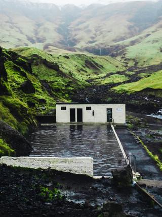 Seljavallaug Pool, Iceland