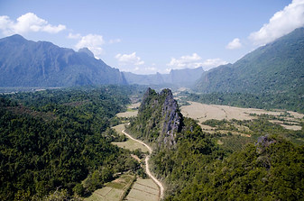 Nam Xay Viewpoint, Laos
