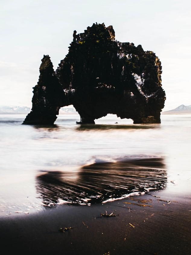 Kvitserkur Rock, Iceland
