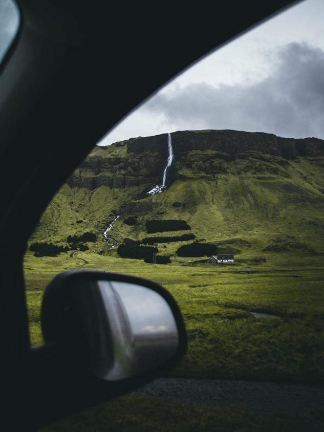 Roadside Foss, Iceland