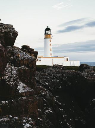 Rua Reidh Lighthouse, Scotland