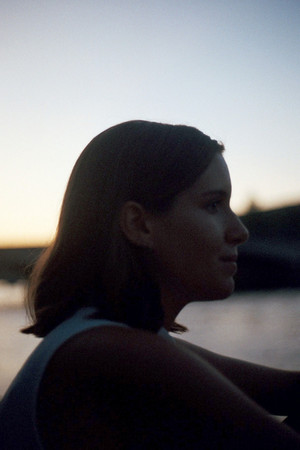 clarisse during sunset