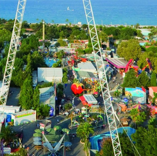 Le parc d'attractions Antibesland est prêt pour la réouverture
