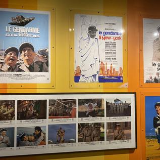 Les gendarmes de Melun perquisitionnent le musée De Funès de Saint-Raphaël pour une exposition