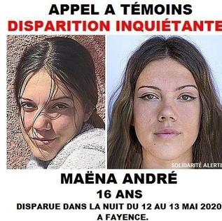 Appel à témoins : Les parents de Maëna André sont toujours sans nouvelles de leur fille