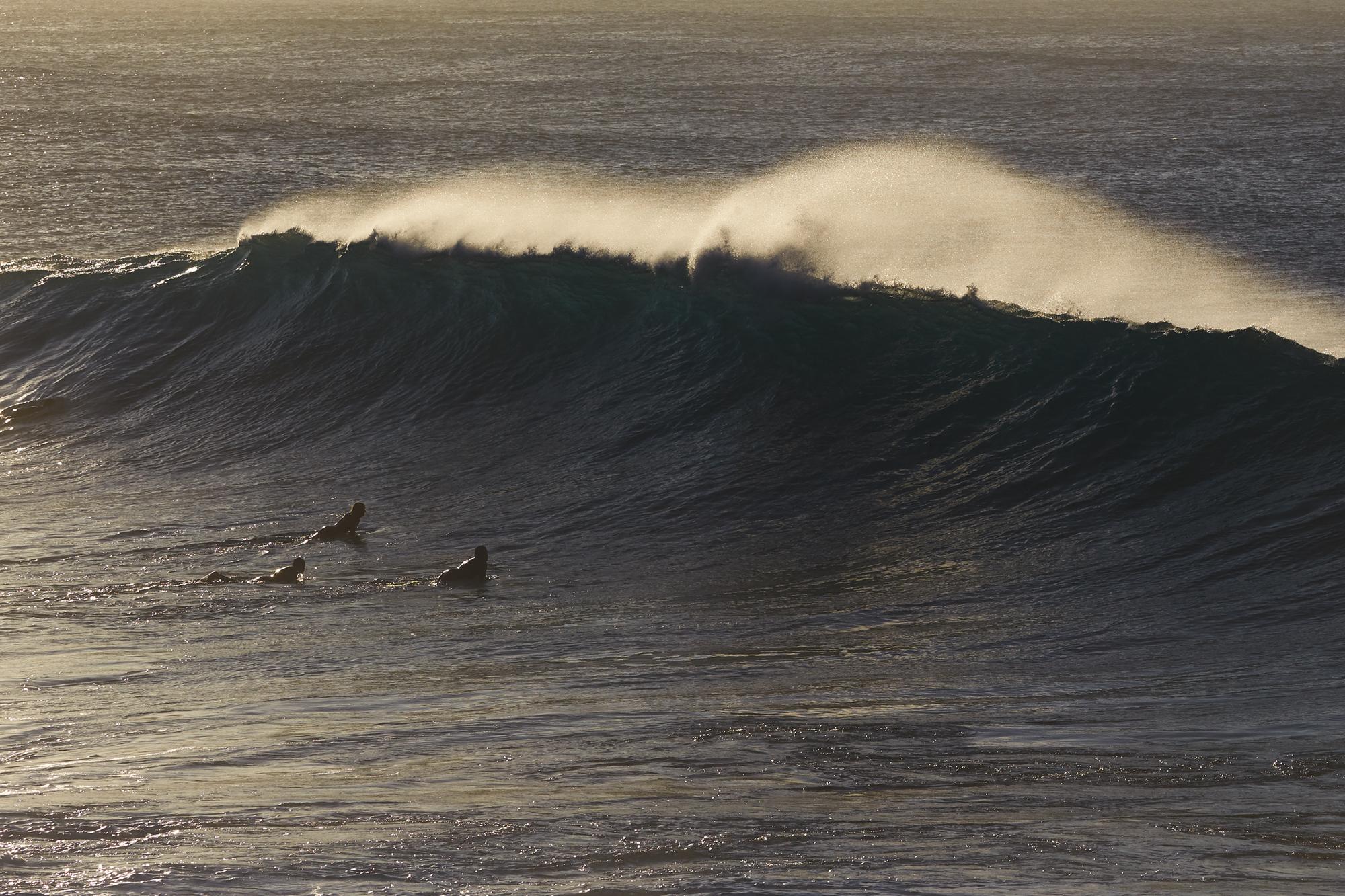 Waves in Bronte