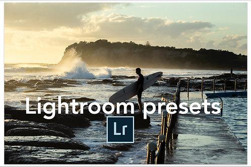 Lightroom Classic CC Presets - Summer
