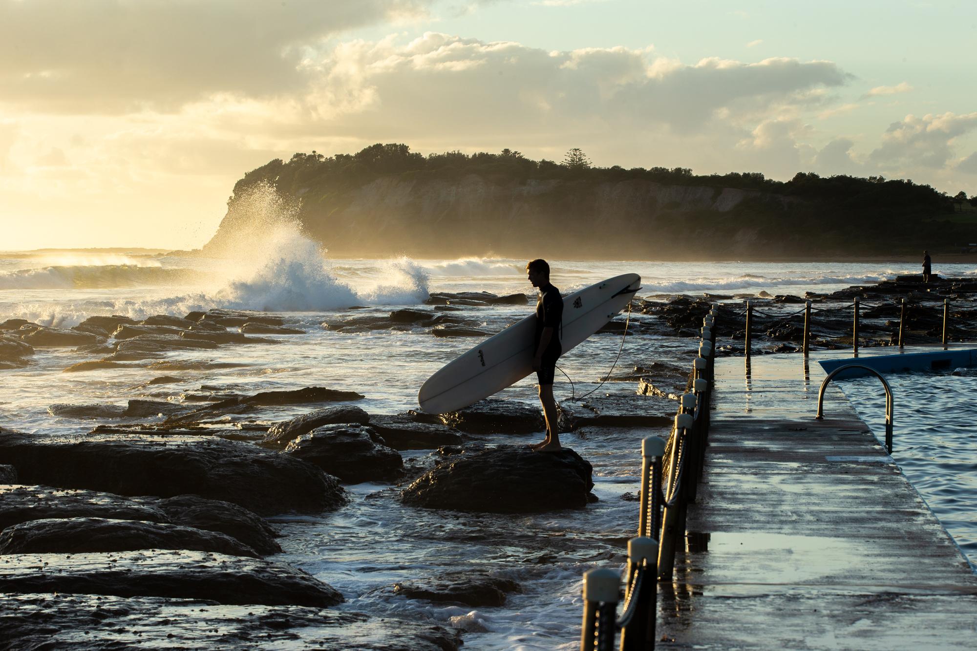 Surfer in Collaroy