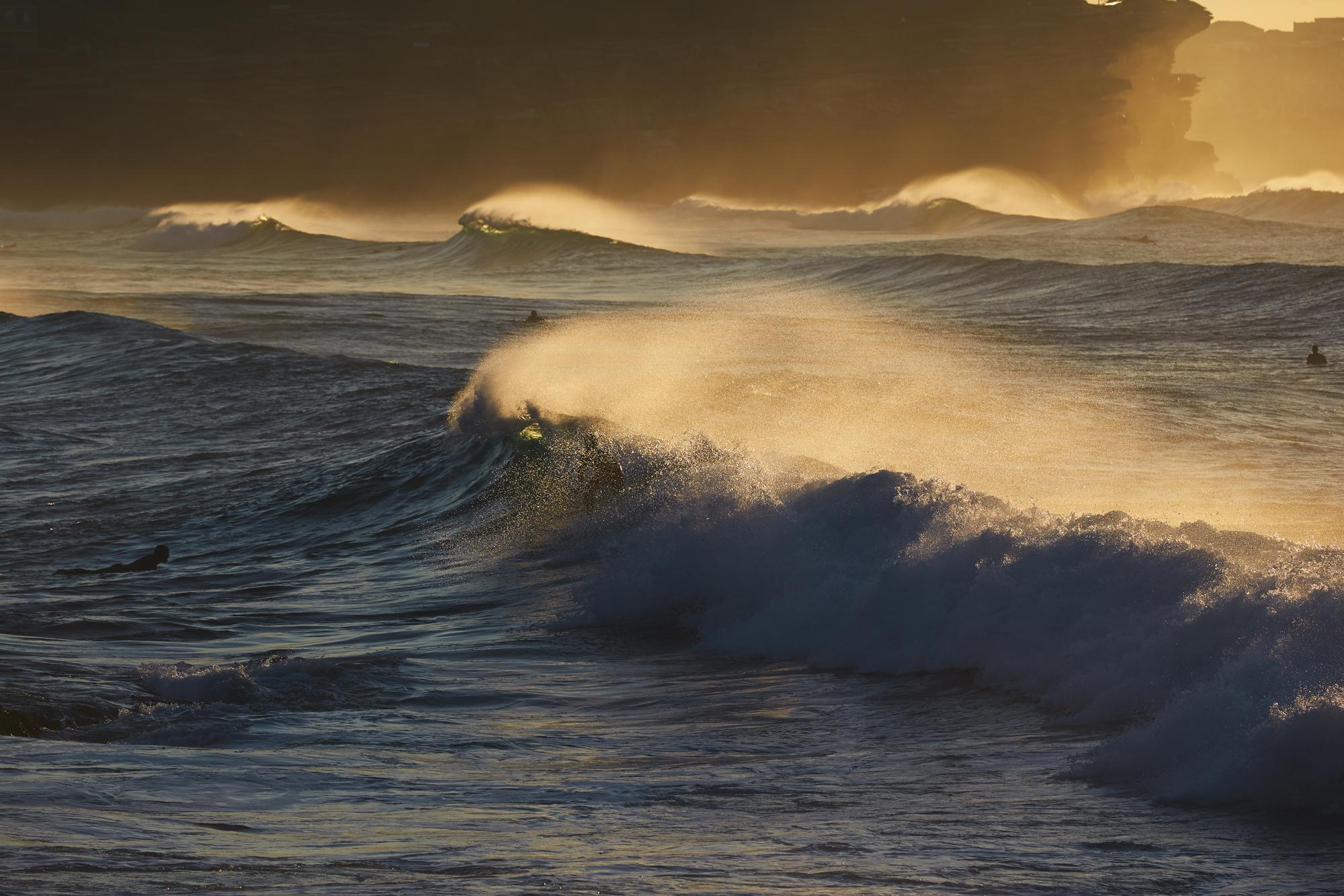 Waves in Bronte Beach