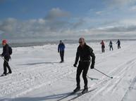Ski de fond parc régional des Iles