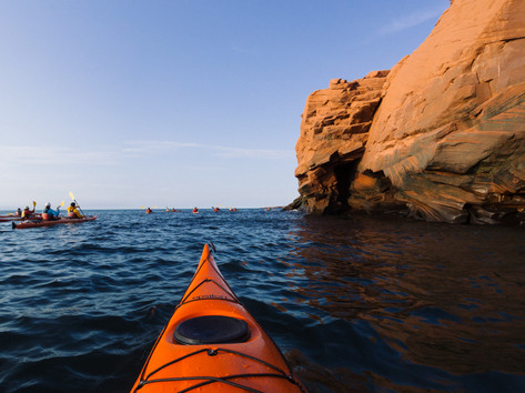 Kayak parc régional des iles