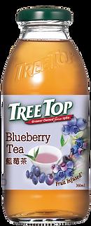 樹頂藍莓茶360ml玻璃瓶