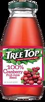 樹頂100%蔓越莓綜合果汁300ml玻璃罐