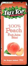 樹頂100%蜜桃綜合果汁300ml利樂包
