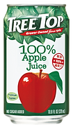 樹頂100%純蘋果汁320ml鋁罐