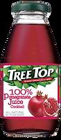 樹頂100%石榴莓綜合果汁300ml玻璃瓶