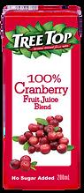 樹頂100%蔓越莓綜合果汁200ml