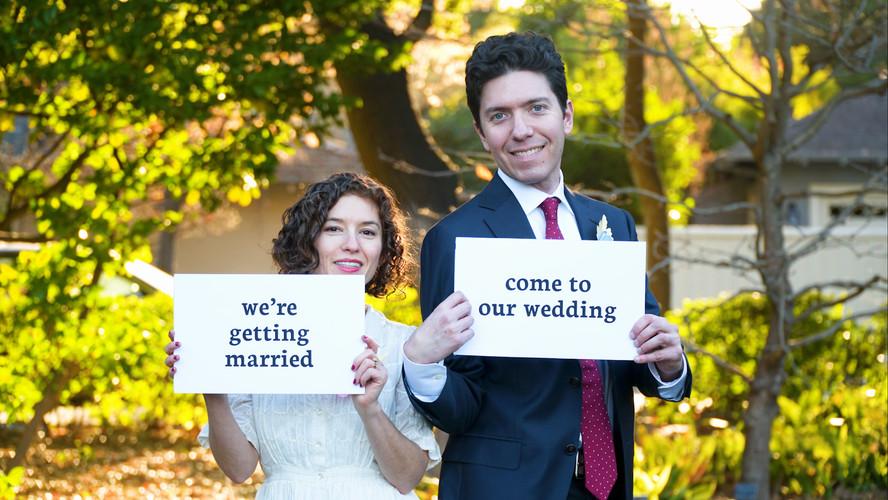 Eve and David Wedding Invintational