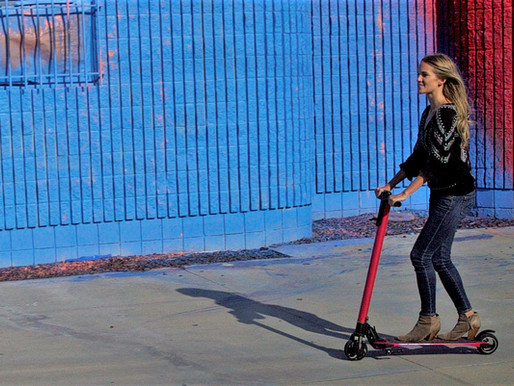 The rise of the e-scooter